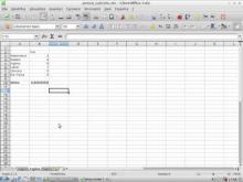 Embedded thumbnail for 4 - Foglio di calcolo (Libreoffice Calc)